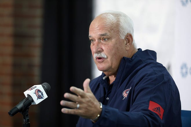 """John Davidson, on the Blue Jackets' hockey operations department: """"The unity here is very strong."""""""