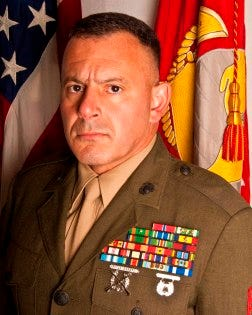 Marine Sgt. Maj. Dan Altieri, whom the Lima Company Marines considered the heart and soul of the unit, died unexpectedly this week.