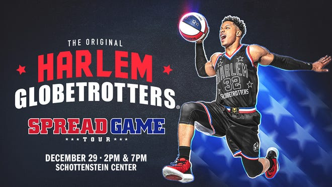 The world-famous Harlem Globetrotters are bringing their ankle-breaking moves and rim-rattling dunksto Schottenstein Center court on Dec. 29.