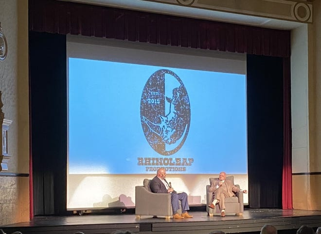 After the documentary, Jonathan Thill asked Jerry Neal questions about his entrepreneurial journey.