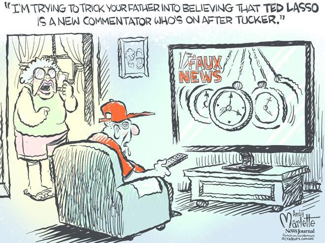 Today's editorial cartoon Sept. 23 2021
