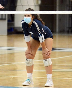 Lia Iacoangeli and Petoskey volleyball will try to rebound with a match against TC West Thursday.