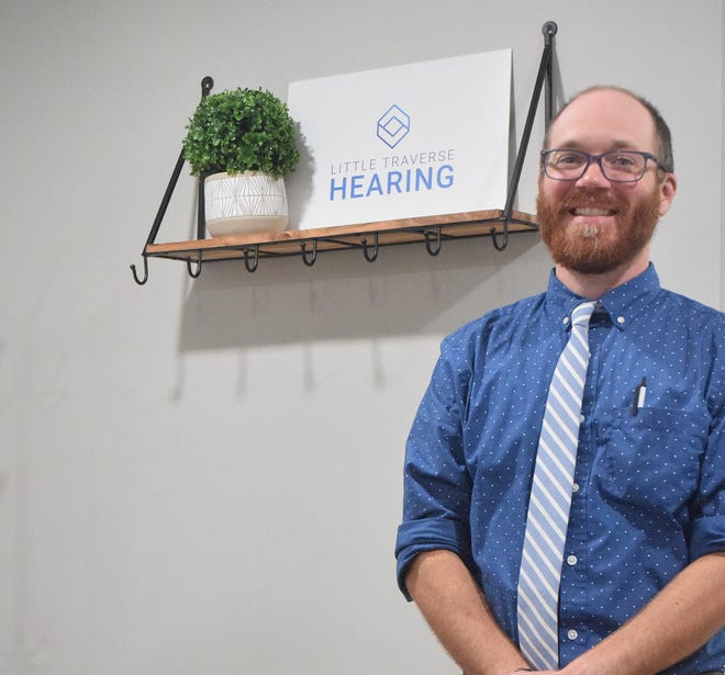 Dr. Adam Wong of Little Traverse Hearing, located at 2206 Mitchell Park Dr. Suite 13B in Petoskey. The audiologist opened his office earlier this month.