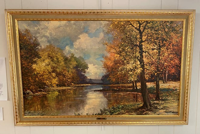 """""""By the Sawkill"""" by Robert Wood (1965)"""