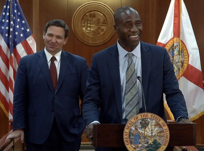 Gov. Ron DeSantis appoints Dr. Joseph Ladapo as the next surgeon general of Florida on Sept. 21