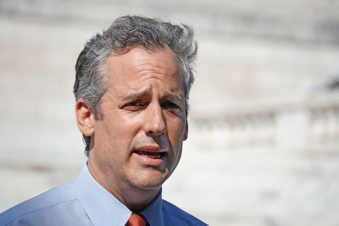 """Asked whether his primary opponents were part of the """"corrupt political machine"""" he is seeking to take down, Matt Brown said, """"I don't see them taking on the corrupt machine."""""""