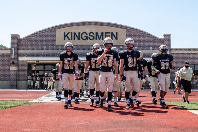 Playing football at TCU Freed Field for the five-time state champion Penn Kingsmen remains the dream of sophomore offensive guard Nikos Medlin.