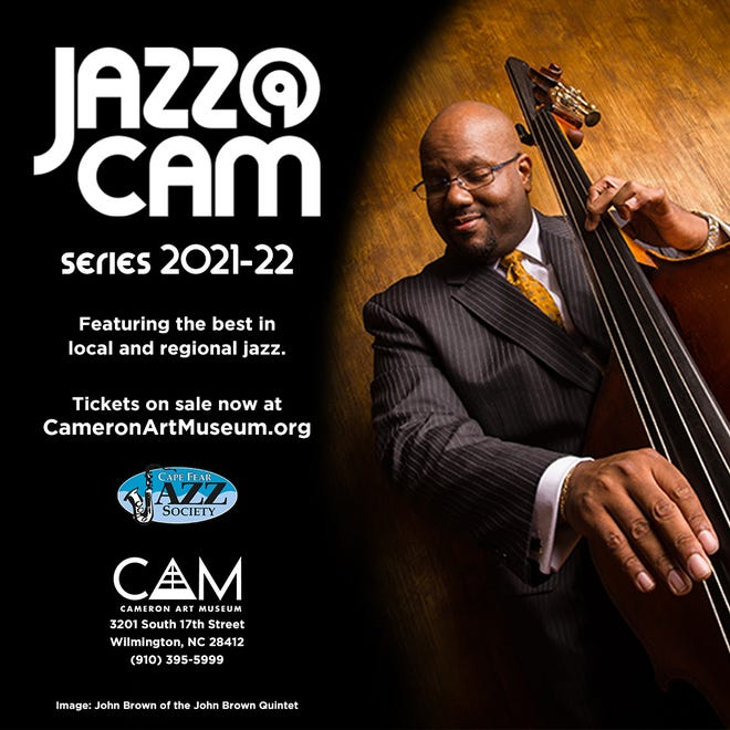 Jazz@CAM series 2021-22 will be held the first Thursday of the month beginning in October and concludes April 2022. John Brown Quintet will perform Feb. 17, 2022.