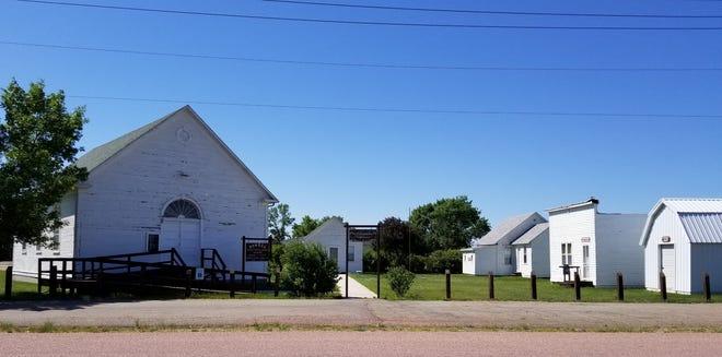Pioneer Village in Ipswich features eight historic buildings.