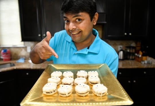 A recent contestant on The Food Network's Halloween Baking Championship Anirudh Mamtora saidHalloween macarons are the perfect holiday dessert.