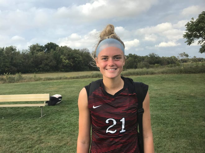 Kingsway's McKenna Williams has been the sparkplug of a defense that has posted five consecutive shutouts.