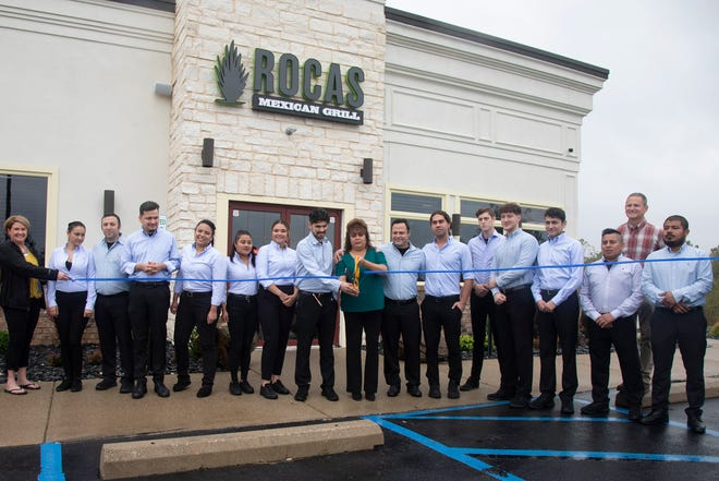 The ribbon cutting for the new Rocas Mexican Grill was held on Tuesday, Sept, 21, 2021, in Chillicothe, Ohio.