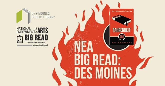 NEA Big Read program at Des Moines Public Library