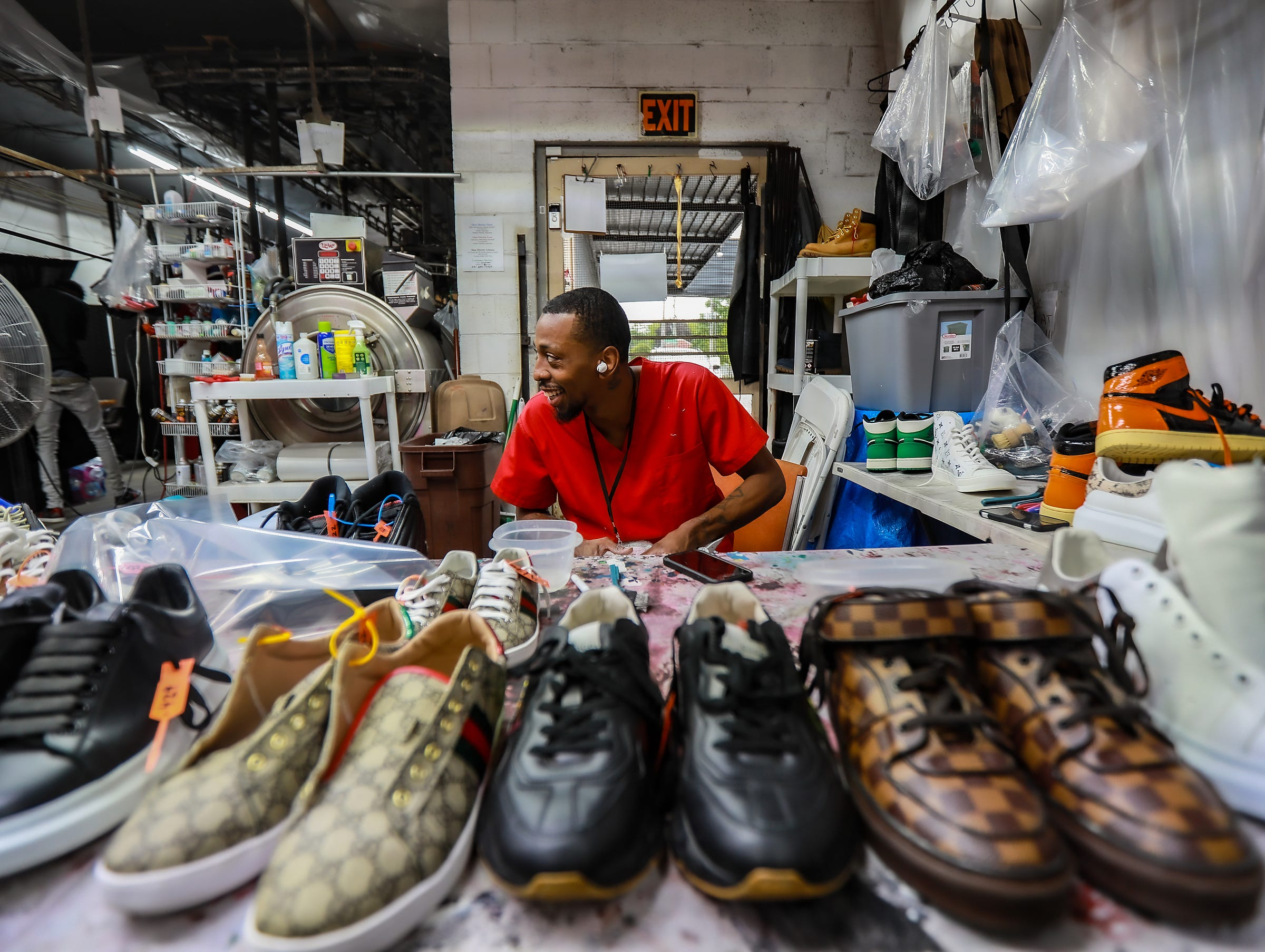Shoe Doctor sees success in Detroit cleaning 85,000 shoes a month