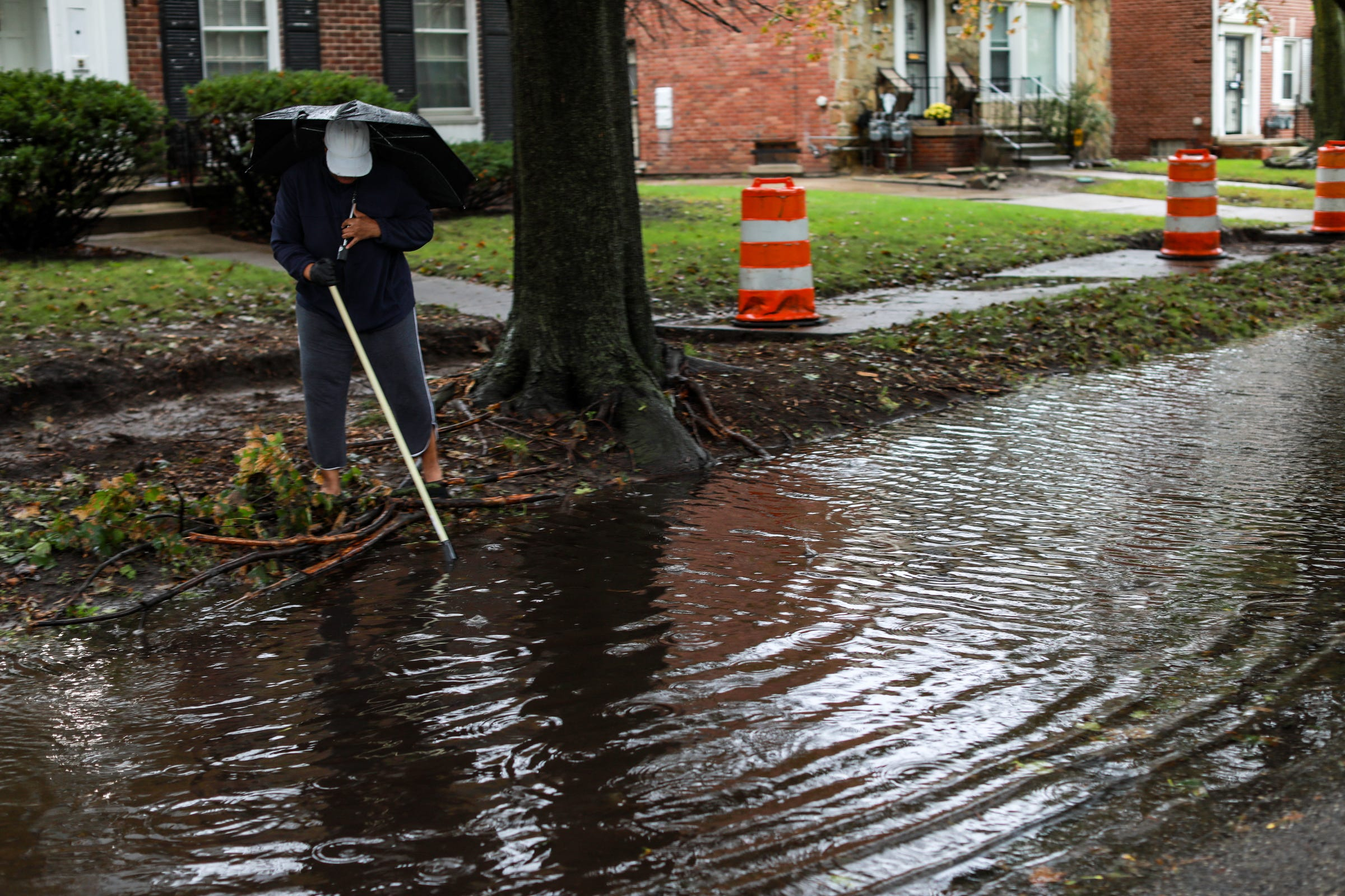 Metro Detroit has mostly dodged flooding so far — but warning still in effect