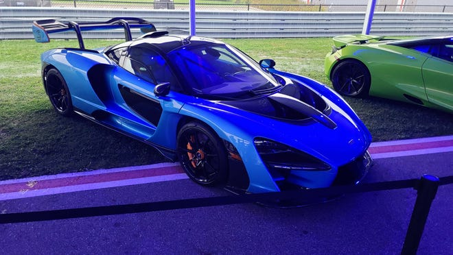 The McLaren Senna is the fastest production car in existence. A race car with a license plate, only at The Gallery.