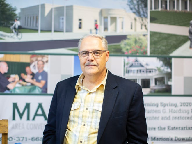 Director Mark Holbrook will retire from the Marion Area Convention & Visitors Bureau January 2022.
