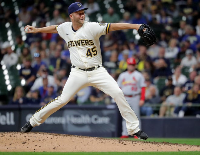 Brad Boxberger became a key cog in the Milwaukee Brewers' bullpen despite being cut at the end of spring training.