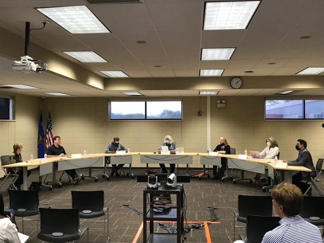 The Mequon-Thiensville School Board met Sept. 22 at the Range Line Community Center to vote to put board members Wendy Francour, Erik Hollander, Akram Khan and Chris Schultz up for recall elections in November.