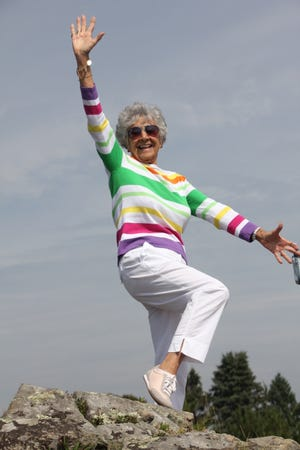 "Dancing grandmother Marie Frances O'Brien of Naples has become a TikTok hit as ""Fran the Hip Gram."""