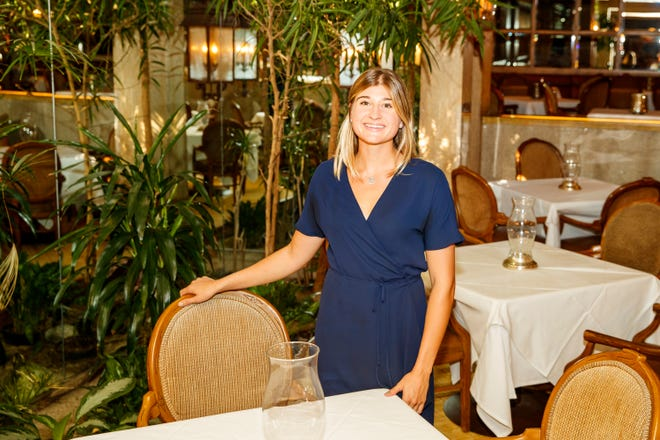 Madalyn Botello is taking over operations of Wally's Desert Turtle, the third generation of Botellos to run the family-owned restaurant that was founded in 1978 by her grandfather, Wally Botello. Botello is photographed inside the restaurant in Rancho Mirage, Calif., on Monday, September 20, 2021.