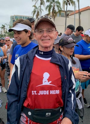 John Lamb has been named a St. Jude Hero for his fundraising efforts.
