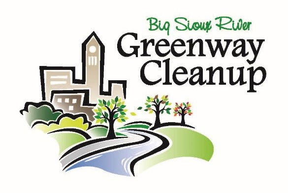 Big Sioux River Greenway Cleanup logo