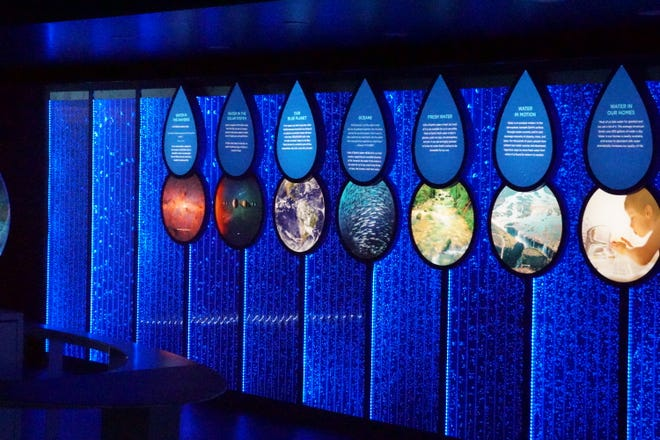 The Global Water Center's Mobile Discovery Center visits Kohler, Wis. Sep. 18-19 and 21-26, 2021. This immersive display helps educate and engage people in the discussion about access to clean water.