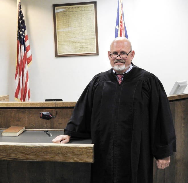 Judge Tim France of Coshocton Municipal Court was recently named 2021 Coshoctonian. The honor from the Coshocton County Chamber of Commerce recognizes him for his work as judge and in the community, including beautification efforts with Coshocton in Bloom.
