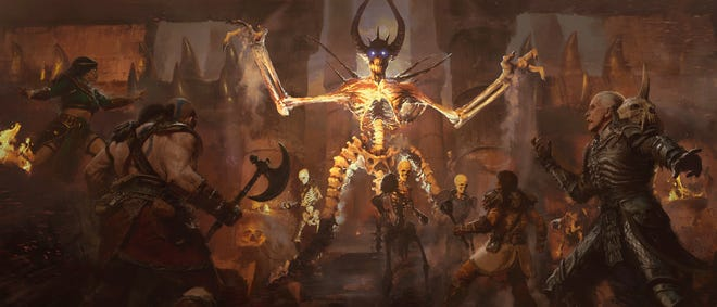 Diablo II: Resurrected is a complete remaster of the original game and its Lord of Destruction expansion.