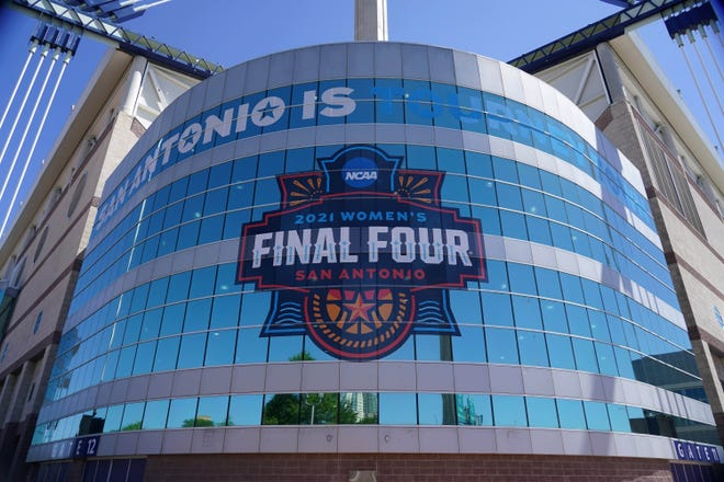 San Antonio played hosted to the women's Final Four this year. Texas is due to be the site of the women's Final Four in 2023 (Dallas) and men's Final Four in 2023 (Houston) and 2025 (San Antonio).