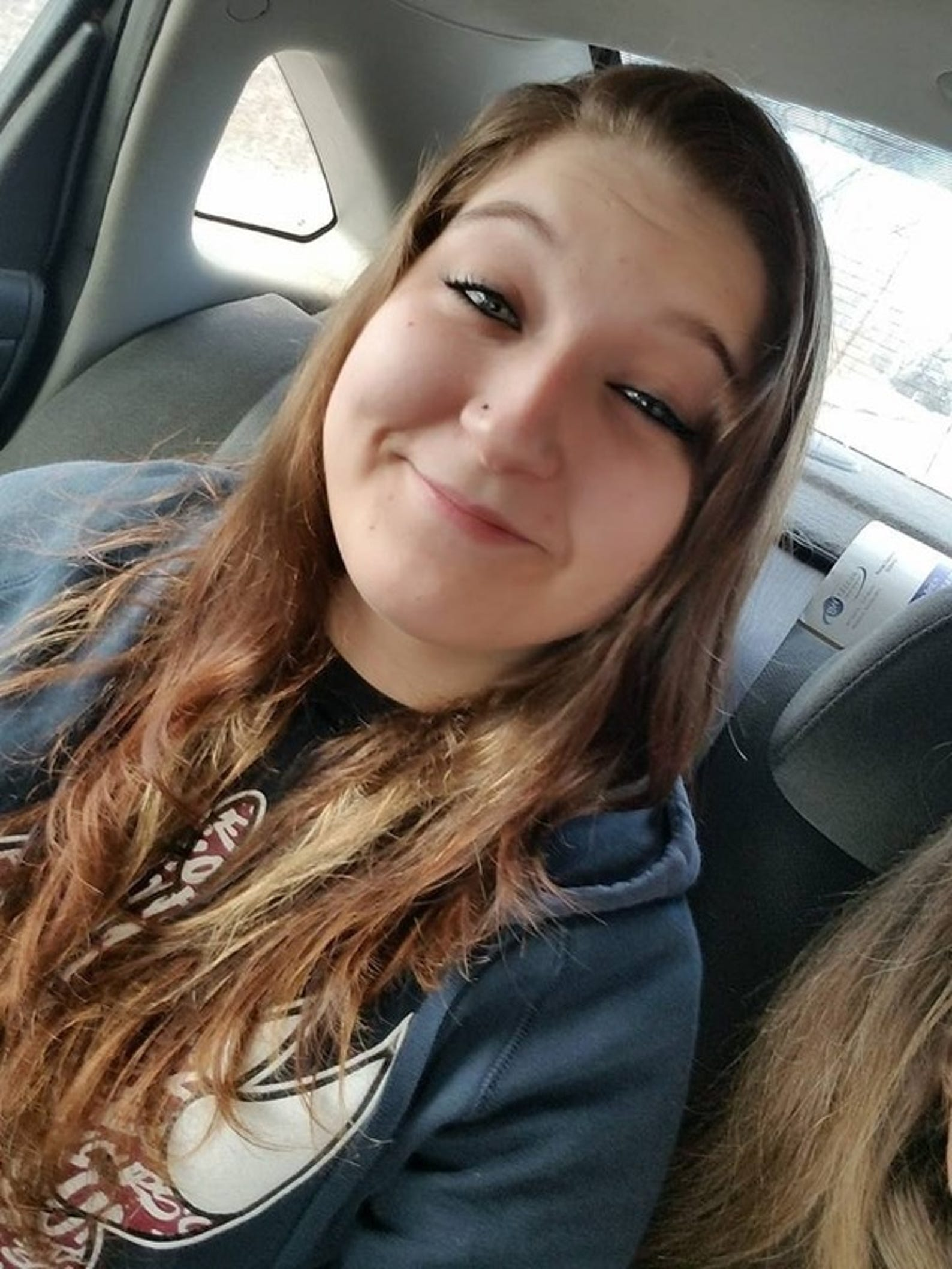 Sunny Sramekwas 18 when she went missing from Trenton, Nebraska, on April 20, 2019.More information and age-progressed photos here.