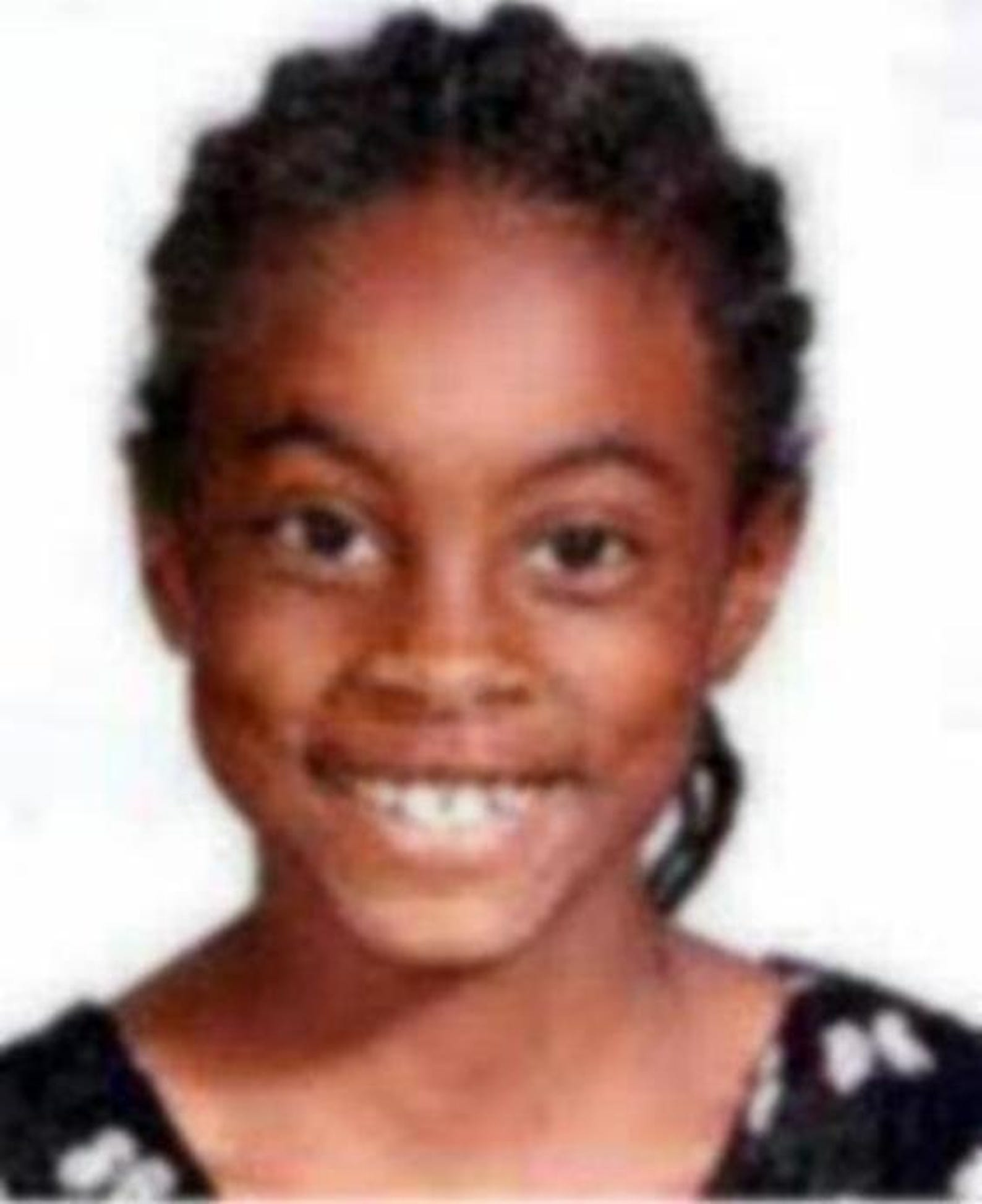 Asha Jaquilla Degree was 9 when she went missing from Shelby, North Carolina, on Feb. 14, 2000.More information and age-progressed photos here.
