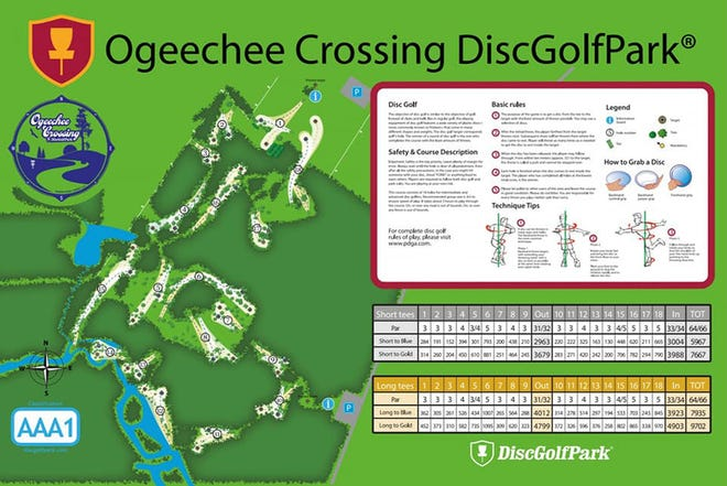 Ogeechee Crossing DiscGolfPark's first tournament scheduled.