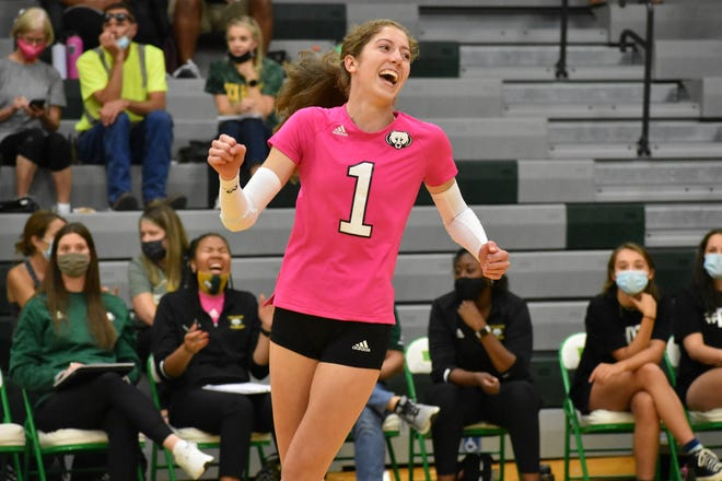 Rock Bridge standout Ella Swindle is one of the most sought-after volleyball recruits as a junior and aims to win a state title before her high school career is over.