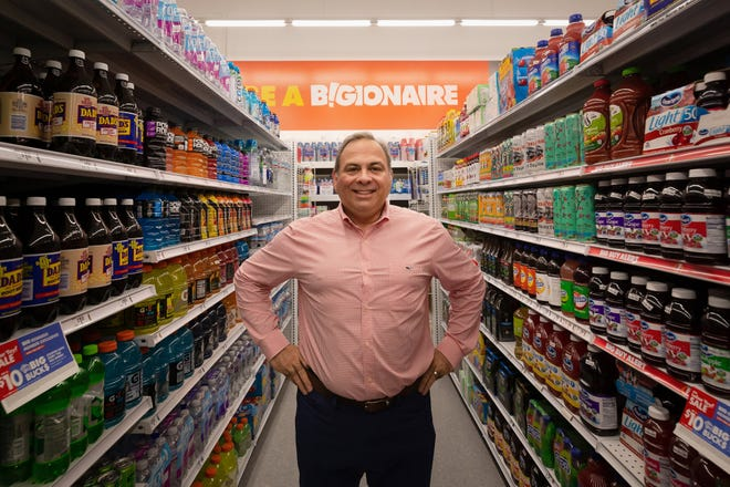 Big Lots CEO Bruce Thorn at the new Big Lots store at the intersection of Morse and Hamilton roads.