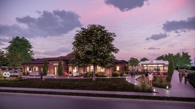 A diverse mix of uses, including office (coworking), event space and a restaurant/microbrewery, is planned at the 2.25-acre historical Westerville Armory building site at 240 S. State St.
