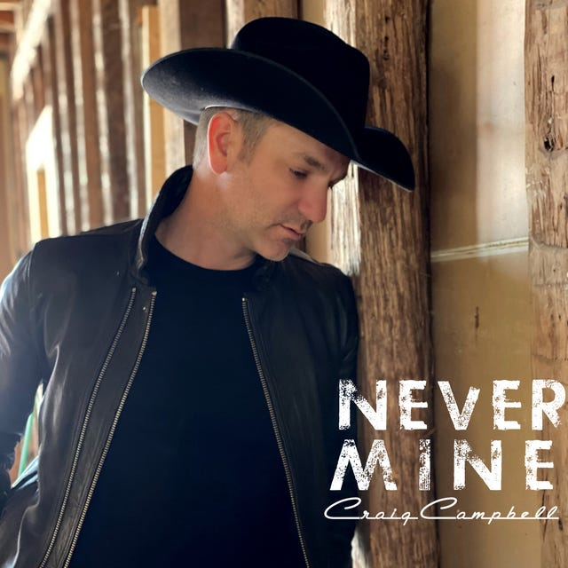 """Country artist Craig Campbell will perform Wednesday, Sept. 29 at The Mulehouse as part of the venue's Songwriters Room series. His latest single, """"Never Mine,"""" was released in June of 2021."""