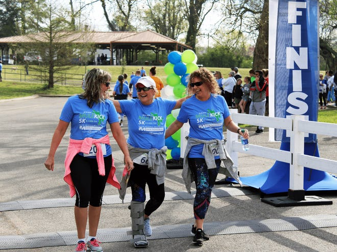 Proceeds from the 2021 Mule Kick 5K & 1-Mile Trot will provide funding for Maury Regional Healths mobile medical unit as well as the Foundations Wellness and Aquatics Center Healthy Living Endowment and to the Columbia Parks and Recreation Department.