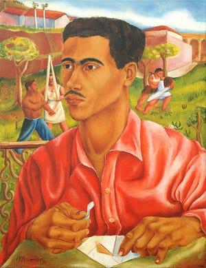 "Mariano Rodríguez, ""Cuadro de Hannibal"" / ""Foto de anibal"" 1939, óleo sobre lienzo"