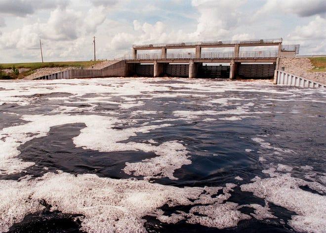 The Rodman Dam.