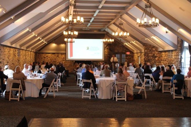 The annual state of the community event took place on Sept. 21 at Castle Farms with about 100 community leaders and others in attendance.