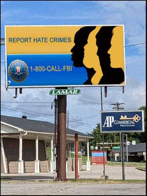 In Rolla, the FBI has a billboard located at 1726 N. Bishop Ave.