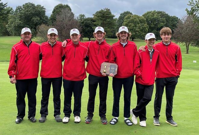 The Hiland boys golf team won the IVC Postseason Tournament on Thursday.