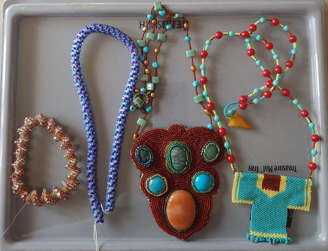 Some beadwork by Sheryl May