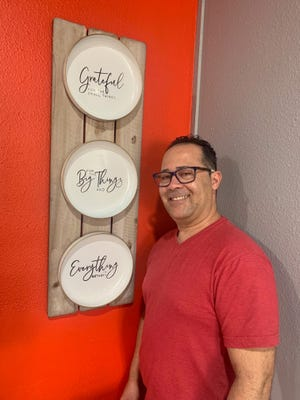 Tony Cruz opened Sazon Criollo so he could cook and serve the food he remembers from his childhood in Puerto Rico.
