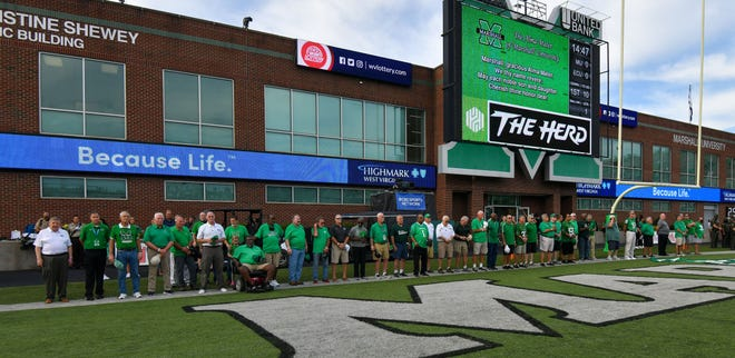 A ceremony was held on Saturday, Sept. 18, 2021, celebrating the 50th anniversary of Marshall University's first win following the 1970 plane crash that killed nearly its entire football team. The Thundering Herd beat Xavier on Sept. 25, 1971. Several former Musketeers attended the ceremony on Sept. 18.