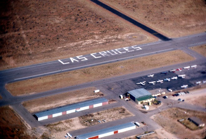 The Las Cruces International Airport is pictured in this undated aerial photo.