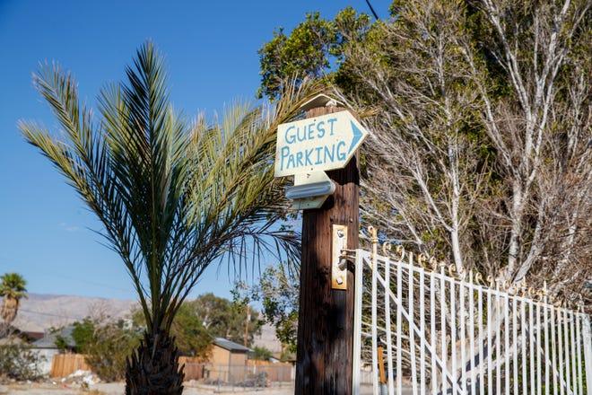 Crashpod Hostel is located on Via Corto East in Desert Hot Springs, Calif., on September 22, 2021.