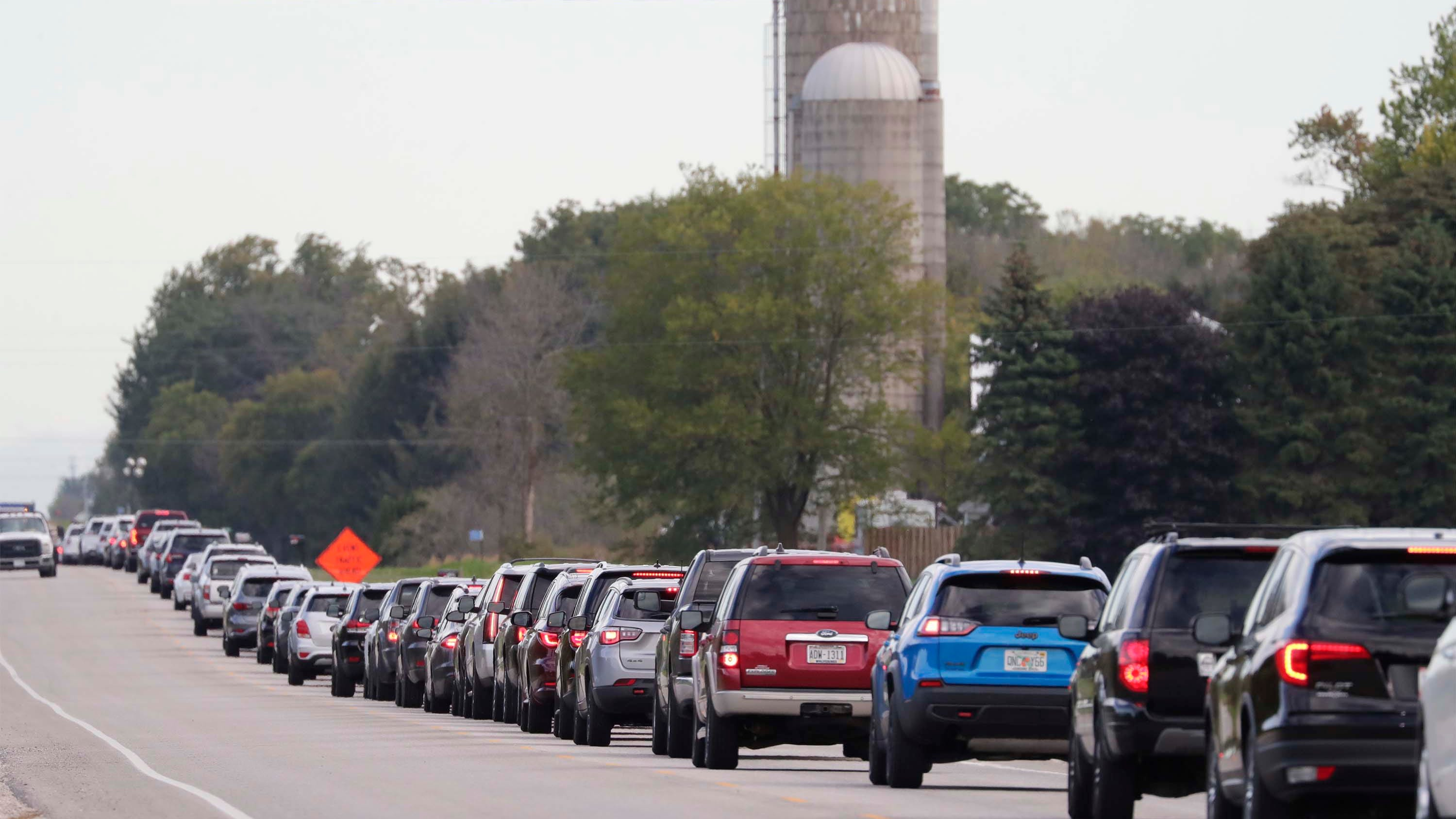 Non-Ryder Cup drivers should avoid I-43, Highway 42 as tournament brings 40,000-50,000 patrons to Sheboygan County - Milwaukee J